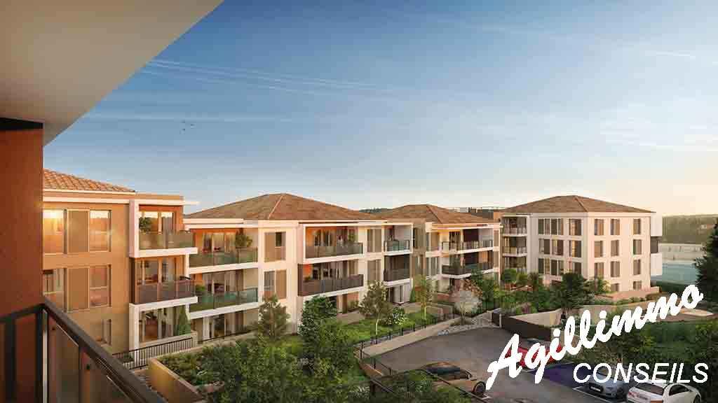 Appartements neufs Les balcons de Provence - DRAGUIGNAN - Côte d'Azur
