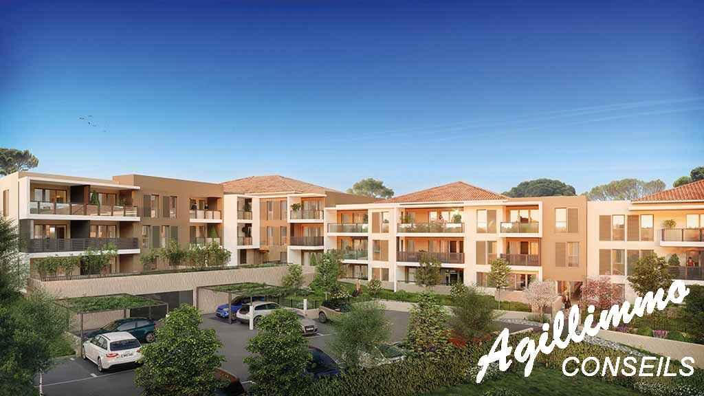 Appartement neuf T2 avec box et terrasse - DRAGUIGNAN - Côte d'Azur