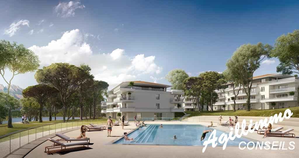 Appartements neufs T2 T3 T4 Le Domaine du Lac - PUGET SUR ARGENS - Côte d'Azur