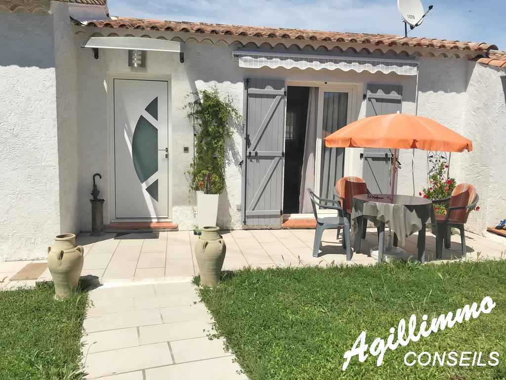 Charmante villa rénovée 4 pièces de plain pied - PUGET SUR ARGENS - Côte d'Azur