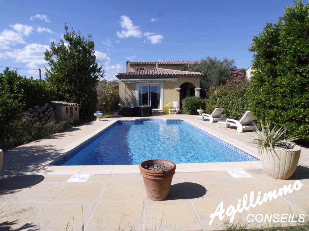Villa avec piscine - PUGET SUR ARGENS - Côte d'Azur