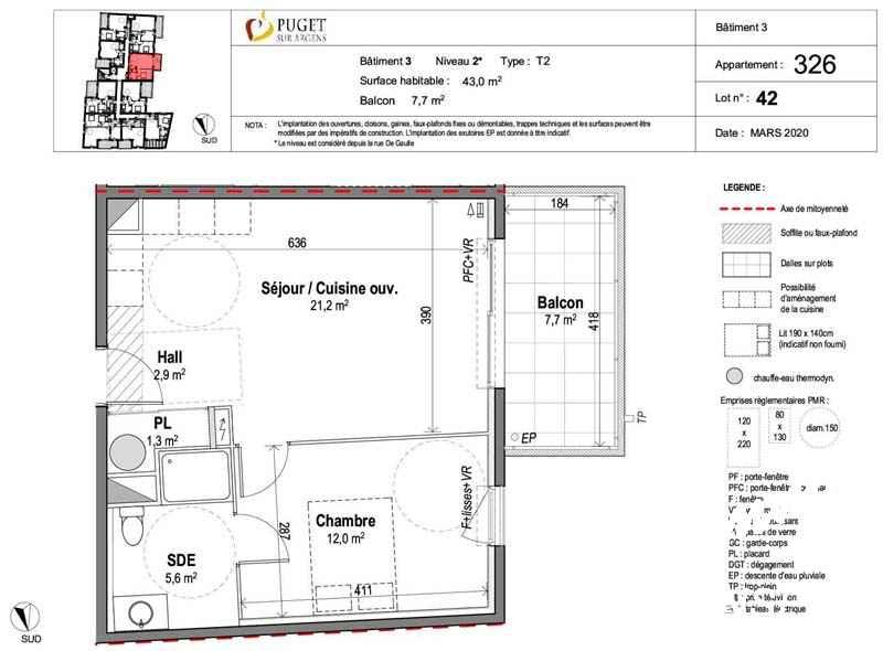 Appartement 2 pièces neuf centre-village - PUGET SUR ARGENS - Côte d'Azur
