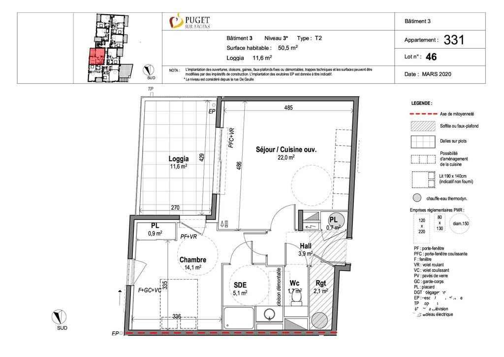 Appartement T2 neuf centre-village - PUGET SUR ARGENS - Côte d'Azur
