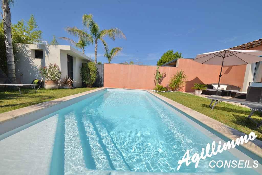 Superbe maison moderne 3P avec piscine  - PUGET SUR ARGENS - Côte d'Azur
