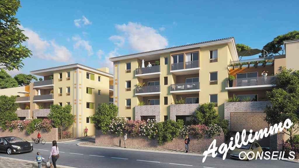 Appartements neufs centre-village - PUGET SUR ARGENS - Côte d'Azur