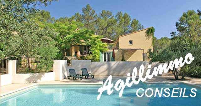 Propriété avec Gîtes sur 2 hectares de terrain - LORGUES - Côte d'Azur